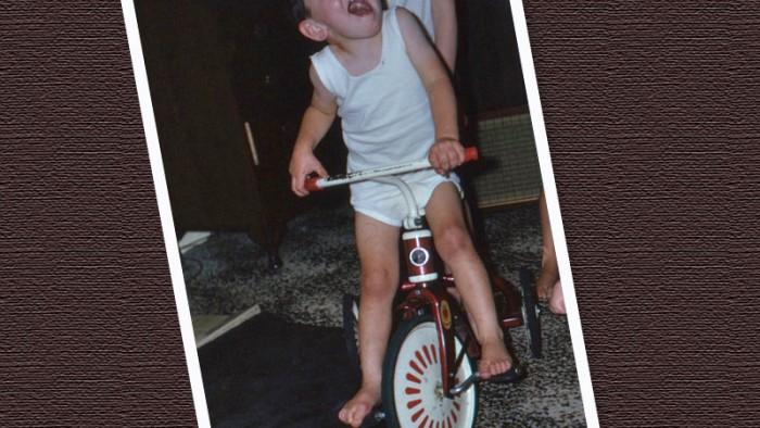 Gordon's first bike