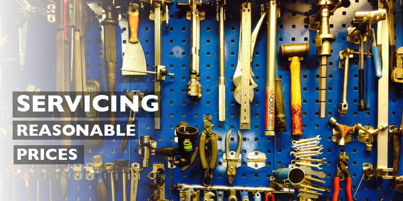 Servicing at G-Whizz cycles