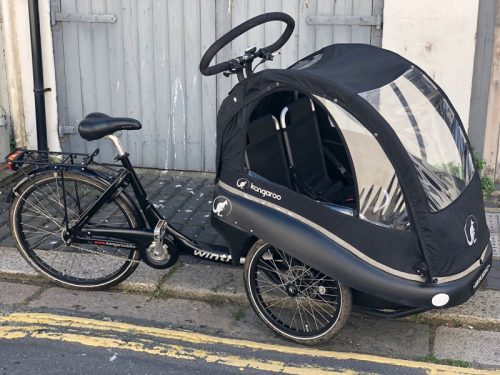 Winther Kangaroo Luxe family cargo cycle