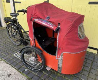 Nihola 4.0 E-Cargo family trike