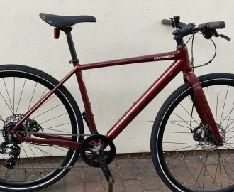 Orbea Carpe 40 2021 Metallic Dark Red