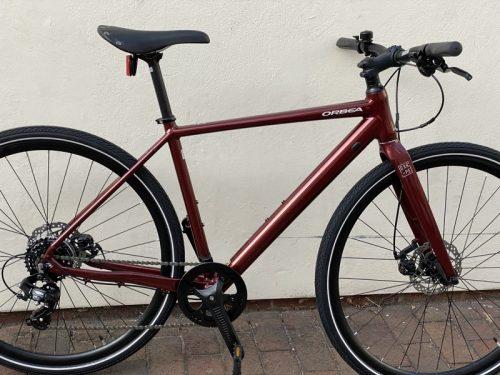 Orbea Carpe 40 2021 Metallic Dark Red