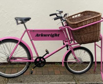 Pashley Delibike trade carrier butchers' bike