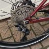 Orbea Vibe MID H30 Dark Red Small rear gears